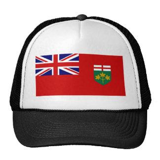 Bandera de Ontario Gorras