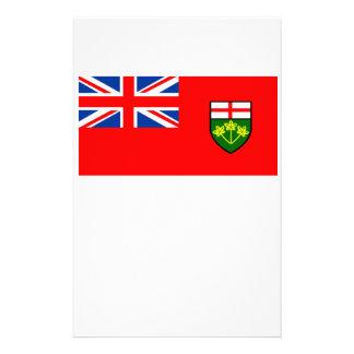 Bandera de Ontario Papeleria