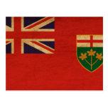 Bandera de Ontario Postales