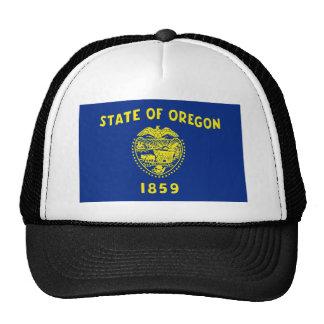 Bandera de Oregon Gorras De Camionero