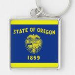 Bandera de Oregon Llaveros Personalizados