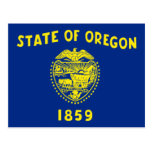 Bandera de Oregon Postales