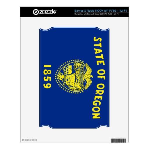 Bandera de Oregon Skins Para elNOOK