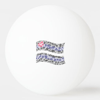 Bandera de orgullo de cuero - .png pelota de tenis de mesa