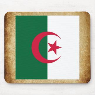 Bandera de oro de Argelia Tapetes De Raton