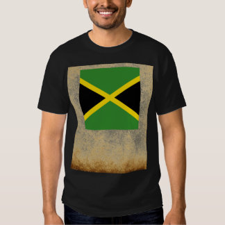 Bandera de oro de Jamaica Camisas