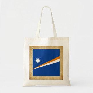 Bandera de oro de Marshall Islands Bolsa Tela Barata