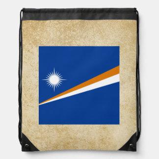 Bandera de oro de Marshall Islands Mochilas