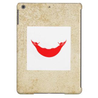 Bandera de oro de Rapa Nui Funda Para iPad Air