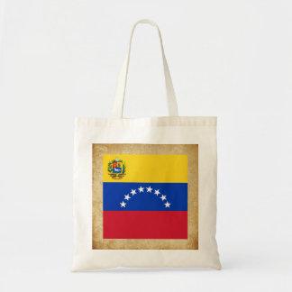 Bandera de oro de Venezuela Bolsa Tela Barata