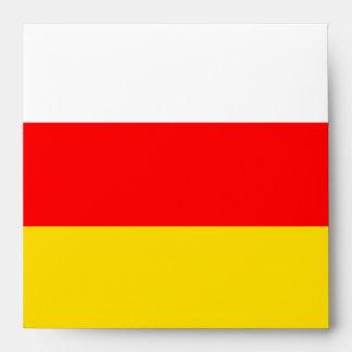 Bandera de Osetia del Sur Sobres