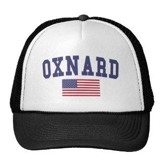 Bandera de Oxnard los E.E.U.U. Gorras De Camionero
