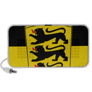 Bandera de país Baden-Wurtemberg Laptop Altavoz