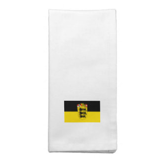 Bandera de país Baden-Wurtemberg Servilleta De Papel