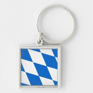 Bandera de país Baviera Llavero