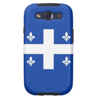 bandera de país de Canadá de la región de Quebec Samsung Galaxy S3 Cárcasas