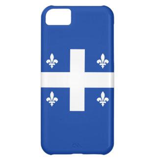bandera de país de Canadá de la región de Quebec