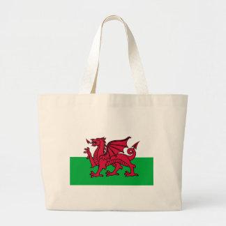 Bandera de País de Gales Bolsa Tela Grande