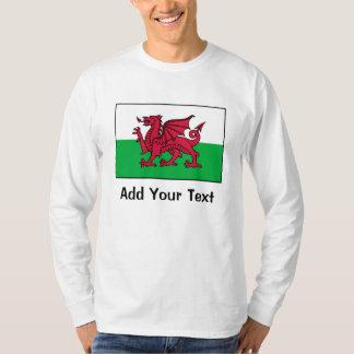 Bandera de País de Gales Camisas