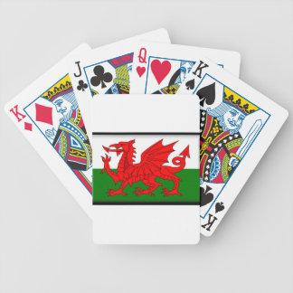 Bandera de País de Gales Barajas