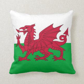 Bandera de País de Gales en la almohada de MoJo