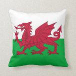 Bandera de País de Gales en la almohada de MoJo de