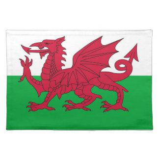 Bandera de País de Gales en MoJo Placemat Manteles Individuales