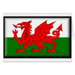 Bandera de País de Gales Felicitacion