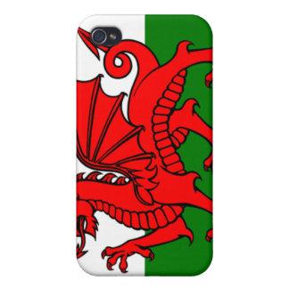 Bandera de País de Gales iPhone 4/4S Fundas