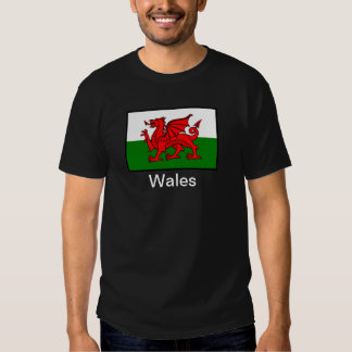 Bandera de País de Gales Playera