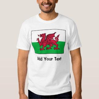 Bandera de País de Gales Playeras