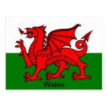 Bandera de País de Gales Postal