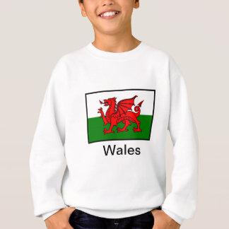 Bandera de País de Gales Sudadera
