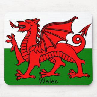 Bandera de País de Gales Tapetes De Raton
