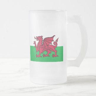 Bandera de País de Gales Tazas De Café