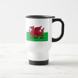 Bandera de País de Gales Taza