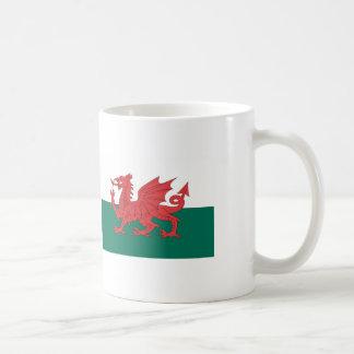 Bandera de País de Gales Taza Clásica