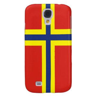 bandera de país de las Orcadas Gran Bretaña Reino  Funda Para Galaxy S4