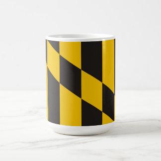 bandera de país de Maryland los E.E.U.U. de la Taza Clásica