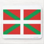 Bandera de País Vasco (Euskadi) Alfombrillas De Ratón