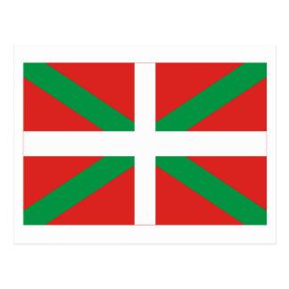 Bandera de País Vasco (Euskadi) Tarjetas Postales