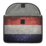 Bandera de Países Bajos Fundas Para Macbooks