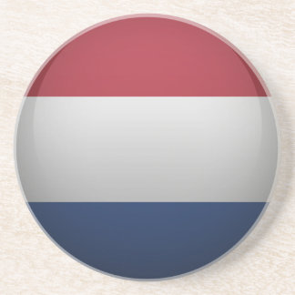 Bandera de Países Bajos Posavasos Cerveza