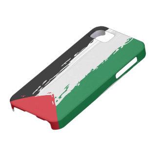 Bandera de Palestina - arte iPhone 5 Carcasa