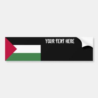 Bandera de Palestina Etiqueta De Parachoque