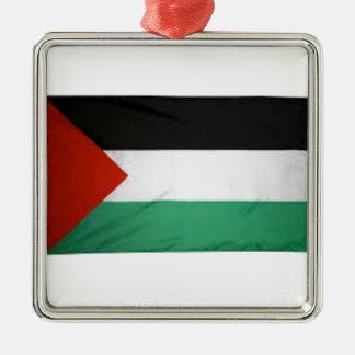 Bandera de Palestina Adornos De Navidad