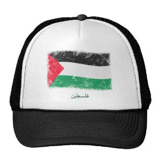 Bandera de Palestina del Grunge Gorras De Camionero
