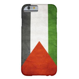 Bandera de Palestina - Grunge Funda De iPhone 6 Barely There