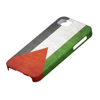 Bandera de Palestina - Grunge iPhone 5 Case-Mate Carcasas