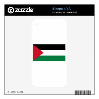 Bandera de Palestina iPhone 4S Calcomanías